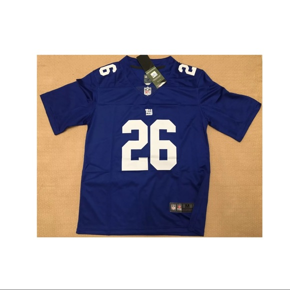 new style 5908e a538a Mens Saquon Barkley Jersey #26 Rookie Jersey